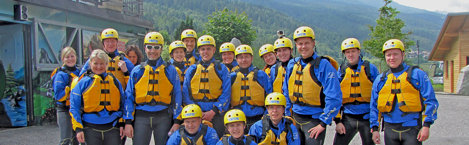 White water rafting in the Vale di D
