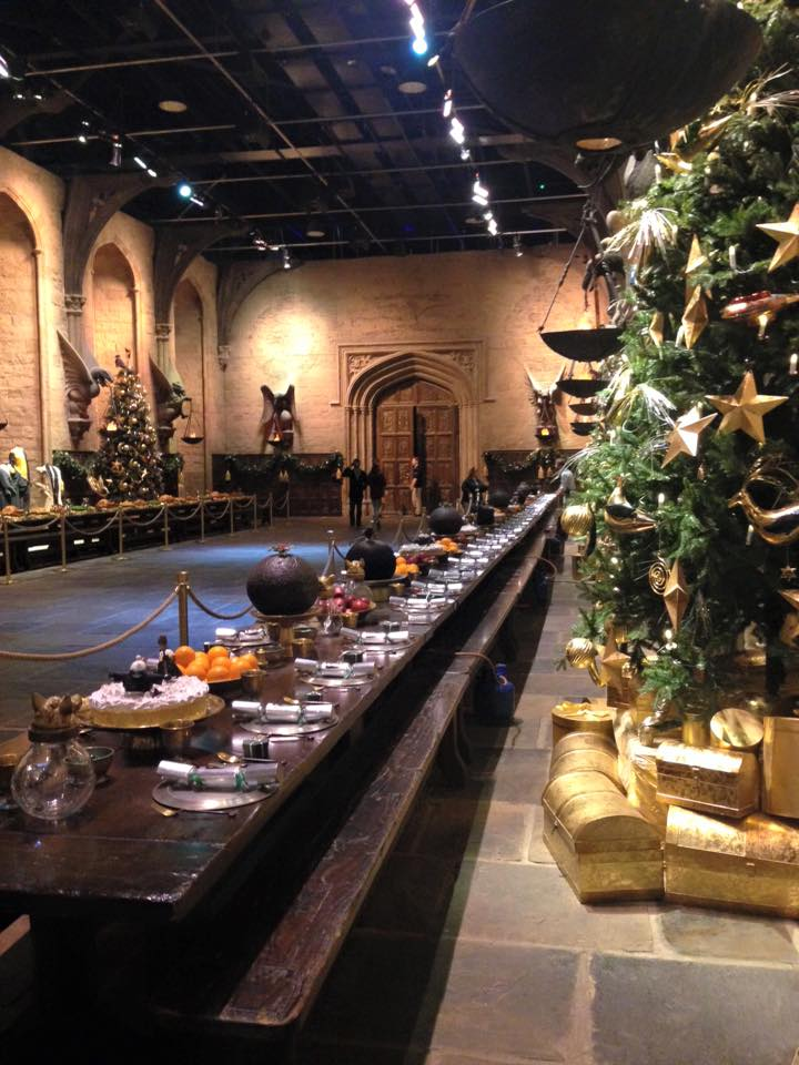 The Great Hall Set at the Warner Bros Studio London